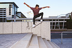 In skateboarding there's no such thing as limits