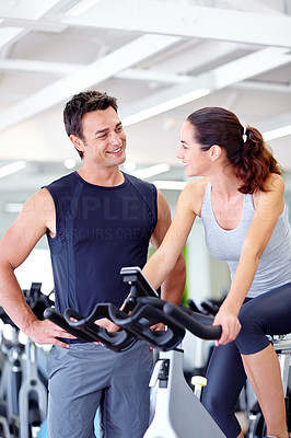 Mutual attraction at the gym