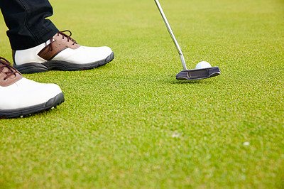Keep calm and make your putt