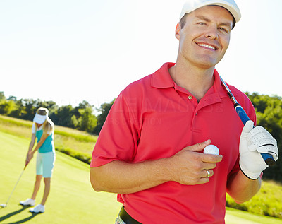 Golf, a game of skill and patience
