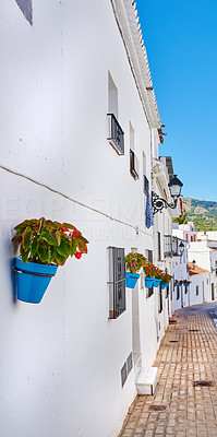 Mijas - old city of Andalusia , Spain