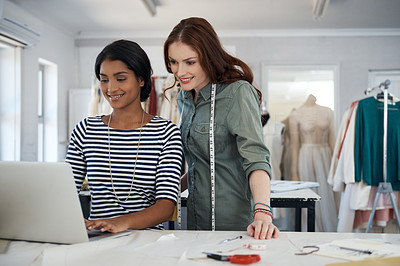 Computers are a vital component of the fashion industry