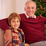 He's spending this christmas with his grandson
