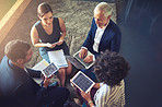 Working as a team helps to build a successful business
