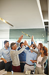 Confidence and positivity - wining attributes of a successful team