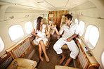 Private Jet Lifestyle - Salutation in the skies