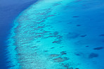 Natures shades of blue - Ocean reef