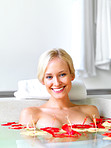 Happy in the tub