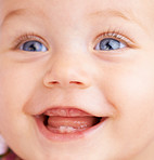 The laughter of a child