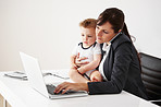Being a working mom is a balancing act