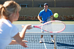 Tennis is a great recreational activity