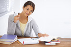 Hitting the books with a positive attitude