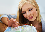 """That's another destination she can mark down as """"visited"""""""