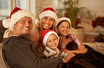 Family moments at Christmas time