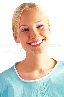 Buy stock photo Perspective of a patient