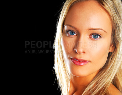Buy stock photo Beautiful fashion model
