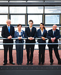 Business groups - Businesspeople standing together
