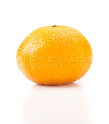 Buy stock photo One tasty orange or tangerine