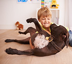 Every little boy should have his own dog!