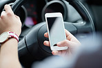 Keep your eyes on the road and avoid distracted driving