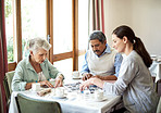 Puzzles offer a wonderful social tool for elderly people