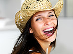 Carefree cowgirl