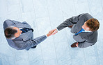 Business handshake and trust