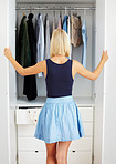 My closet is full...of things I won't wear!