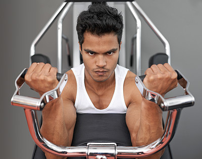 He\'s always in the gym