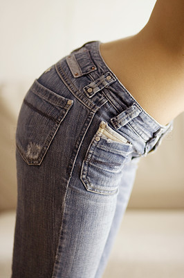 Buy stock photo Girl with Jeans