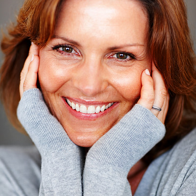 Buy stock photo Portrait of charming young woman posing