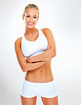 Healthy body and happy smile