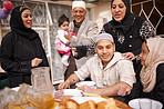 Ramadan is about eating together as a family