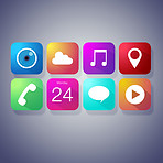 Modern icons for today's digital lifestyle