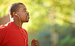 Running to an awesome playlist