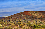 Extinct volcanic craters at Mouna Loa - Hawaii