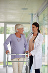 Advice on lifestyle options for senior patients