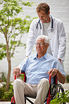 Taking care of his patient's overall wellbeing
