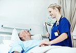 Caring and supportive hospital staff