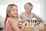 This little genius loves playing chess