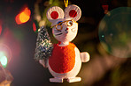 It's a merry, mousy Christmas
