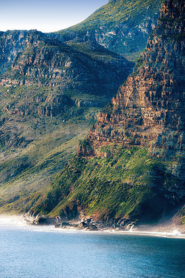 Buy stock photo Nature surrounding Hout Bay,  Cape Town, South Africa