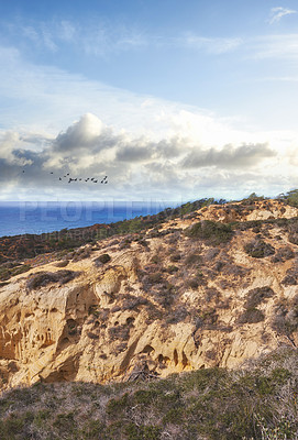 Buy stock photo The beautiful Torrey Pines Park, San Diego, California