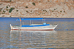 Boat in small lake - Turkey