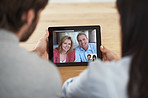 Catching up with the parents online