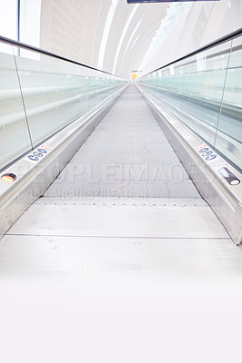 Buy stock photo The airport - modern architecture