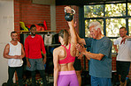 His encouragement has made a huge impact on her fitness