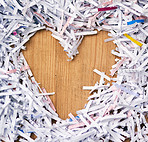 I love shredded paper