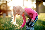 The love for nature comes naturally to kids