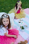 Even princesses enjoy picnics